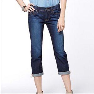 """Lucky Brand """"Sweet Jean Crop"""" Jeans Sz 10"""